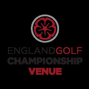 england golf championship venue logo